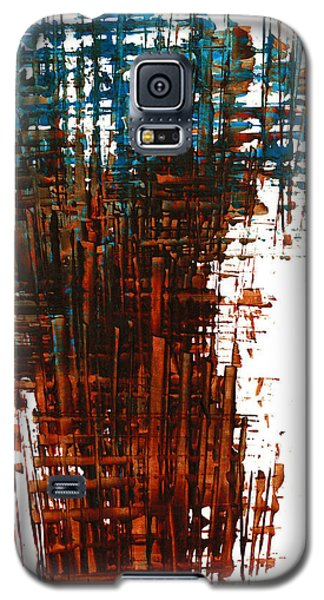 Galaxy S5 Case featuring the painting The Divine In Us 265.111011 by Kris Haas