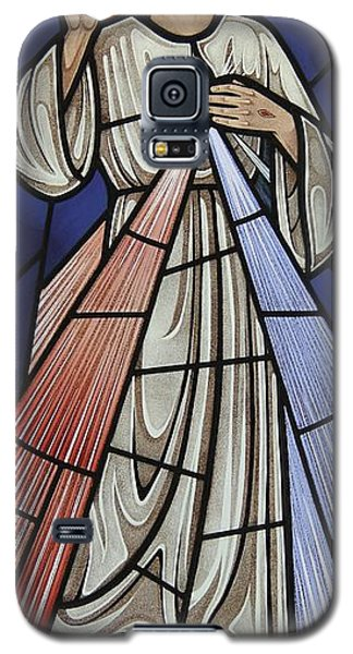 The Divine Mercy Galaxy S5 Case by Gilroy Stained Glass