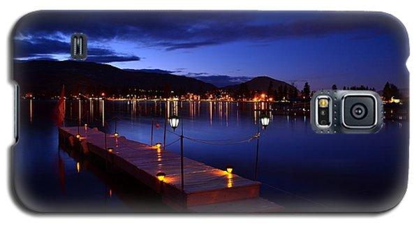 The Dock At Night- Skaha Lake 02-21-2014 Galaxy S5 Case