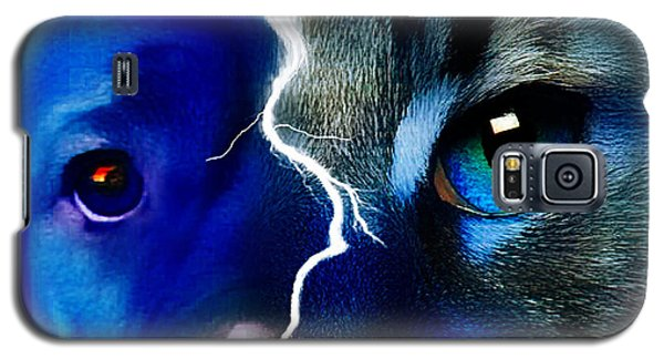 Galaxy S5 Case featuring the digital art We All Connect by Kathy Tarochione