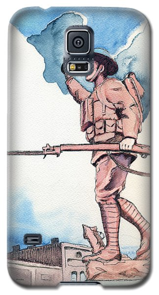 The Doughboy Stands Galaxy S5 Case