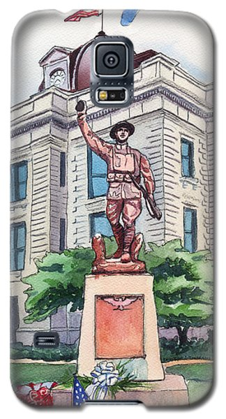 The Doughboy Statue Galaxy S5 Case