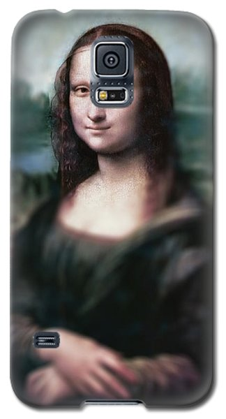 The Dream Of The Mona Lisa Galaxy S5 Case by David Bridburg