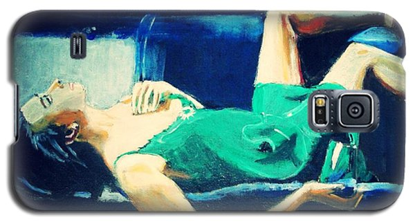 Galaxy S5 Case featuring the painting The Dreamer   by Judy Kay