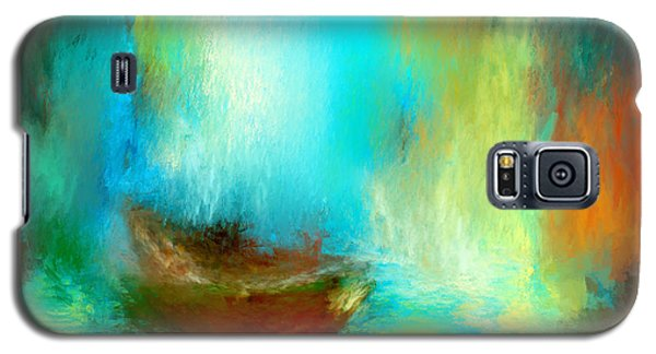 Galaxy S5 Case featuring the digital art The Drifter by Patricia Lintner