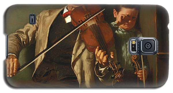 Violin Galaxy S5 Case - The Duet by Mountain Dreams