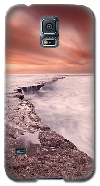 The Edge Of Earth Galaxy S5 Case by Jorge Maia