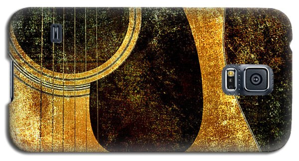 The Edgy Abstract Guitar Square Galaxy S5 Case