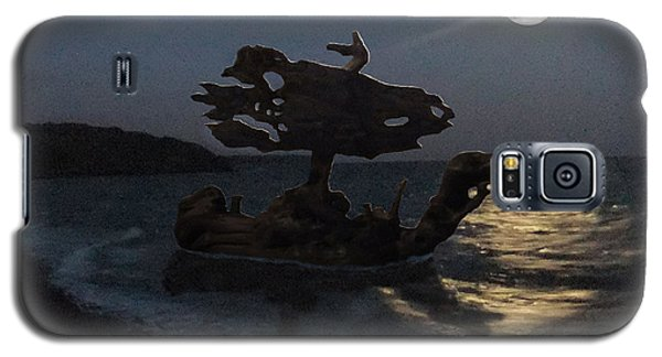 Galaxy S5 Case featuring the photograph The Eftalou Phantom by Eric Kempson