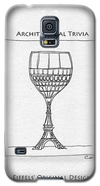 The Eiffel Tower Galaxy S5 Case