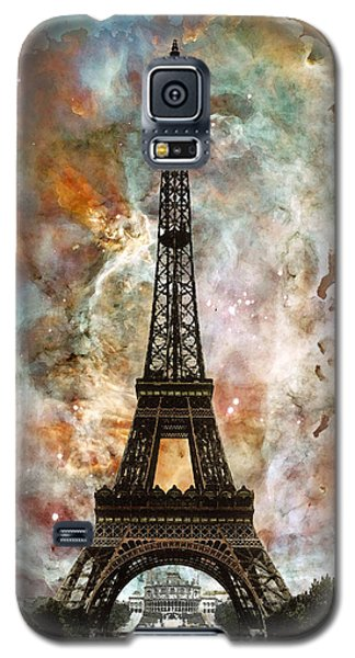 The Eiffel Tower - Paris France Art By Sharon Cummings Galaxy S5 Case by Sharon Cummings