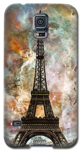The Eiffel Tower - Paris France Art By Sharon Cummings Galaxy S5 Case