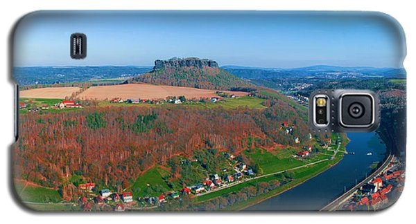 The Elbe Around The Lilienstein Galaxy S5 Case
