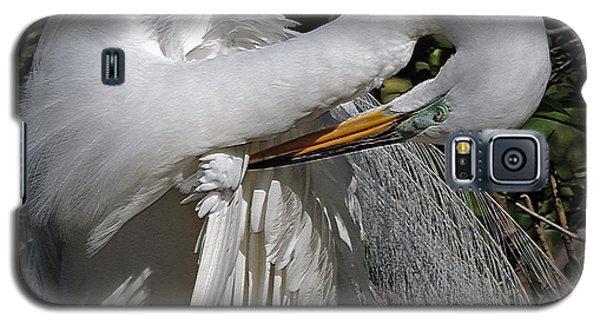 The Elegant Egret Galaxy S5 Case by Lydia Holly