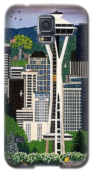 The Emerald City Seattle Galaxy S5 Case by Jennifer Lake