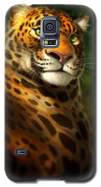 Galaxy S5 Case featuring the digital art The Emerald Kingdom by Aaron Blaise