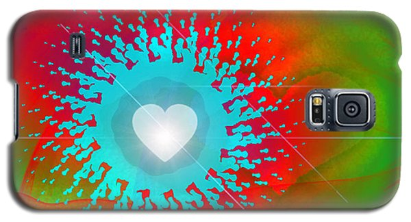 The Emergence Of Love Galaxy S5 Case by Ute Posegga-Rudel
