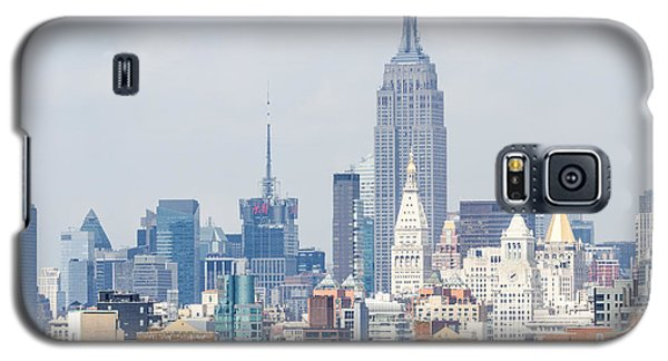 The Empire State Building From The Brooklyn Bridge Galaxy S5 Case