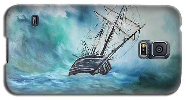 The Endurance At Sea Galaxy S5 Case by Jean Walker