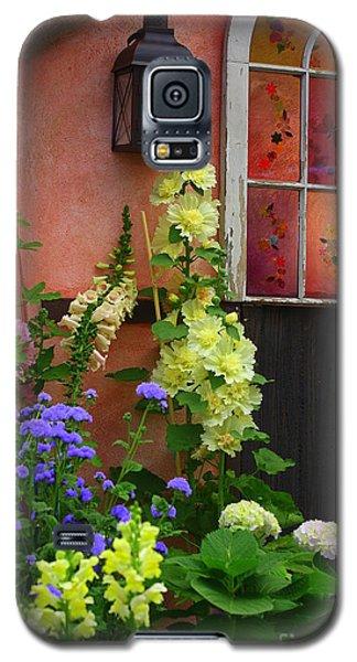 The English Cottage Window Galaxy S5 Case by Dora Sofia Caputo Photographic Art and Design