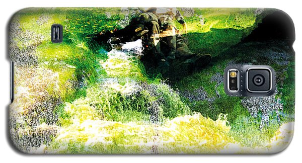 Galaxy S5 Case featuring the photograph The Entanglement 5 by The Art of Marsha Charlebois