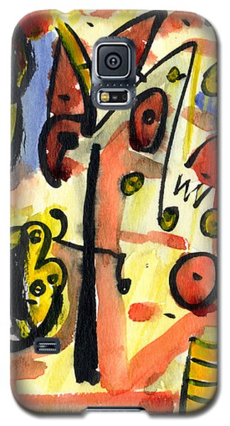 Galaxy S5 Case featuring the painting The Equation by Stephen Lucas