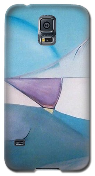 Galaxy S5 Case featuring the painting The Essence Of Temptation by Jodie Marie Anne Richardson Traugott          aka jm-ART