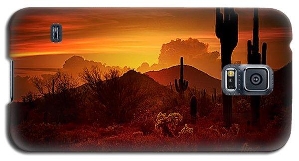 The Essence Of The Southwest Galaxy S5 Case by Saija  Lehtonen