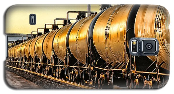 The Ethanol Train Galaxy S5 Case by Bill Kesler