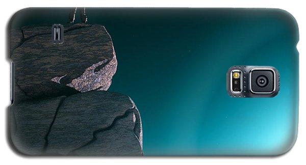 Galaxy S5 Case featuring the digital art The Explorer... by Tim Fillingim