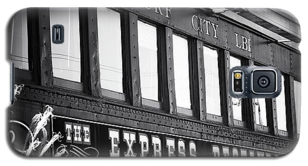The Express Restaurant Black And White Galaxy S5 Case