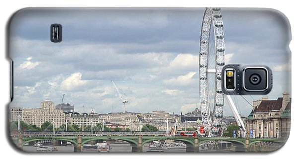 Galaxy S5 Case featuring the photograph The Eye Of London by Keith Armstrong