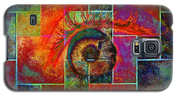 The Eye Galaxy S5 Case by Ron Harpham