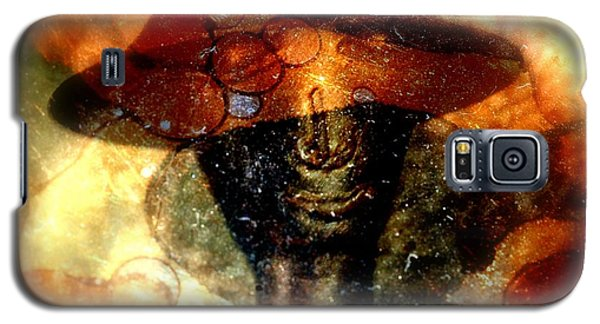 Galaxy S5 Case featuring the photograph The Face Behind The Mask by Irma BACKELANT GALLERIES