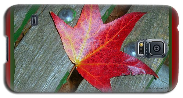 Galaxy S5 Case featuring the photograph The Face Of Autumn by Leanne Seymour