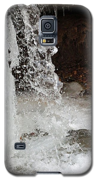 Galaxy S5 Case featuring the digital art The Face Of Winter by Lorna Rogers Photography