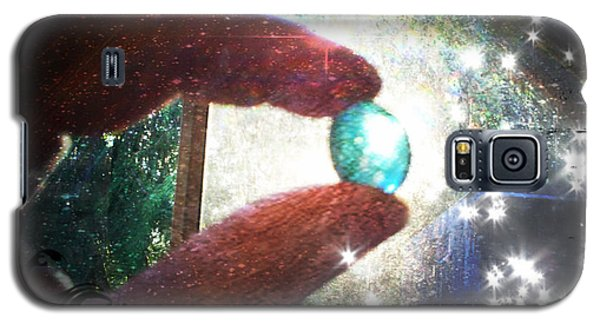 Galaxy S5 Case featuring the photograph The Fairy Stone - Nature Angel  by Absinthe Art By Michelle LeAnn Scott