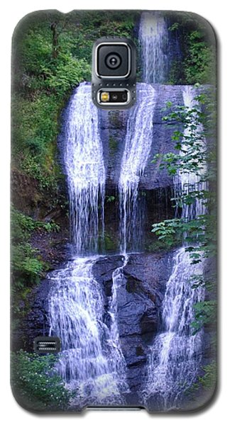 Galaxy S5 Case featuring the photograph The Falls by Amanda Eberly-Kudamik