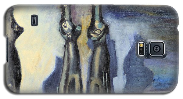 Galaxy S5 Case featuring the painting The Family by Michael Daniels