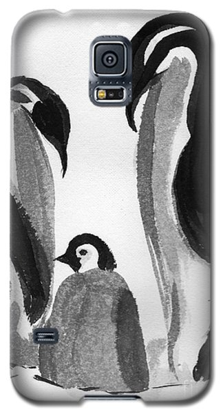 Happy Feet -the Family Of Penguins Galaxy S5 Case