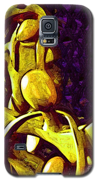The Family Unit In Gold Galaxy S5 Case by Kirt Tisdale