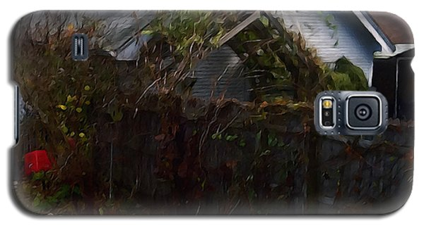 Galaxy S5 Case featuring the digital art The Fence by David Blank