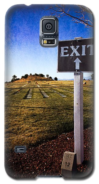 Galaxy S5 Case featuring the photograph The Final Exit by Dave Garner