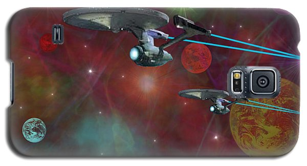 Galaxy S5 Case featuring the digital art The Final Frontier by Michael Rucker