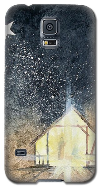 The First Christmas Galaxy S5 Case by Jackie Mueller-Jones