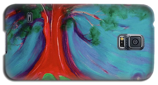 Galaxy S5 Case featuring the painting The First Tree By Jrr by First Star Art