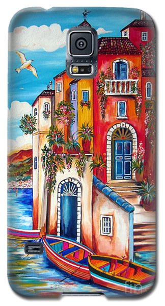 The Fishermen Villa By The Amalfi Coast Galaxy S5 Case by Roberto Gagliardi