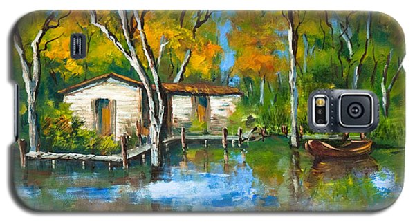 The Fishing Camp Galaxy S5 Case by Dianne Parks