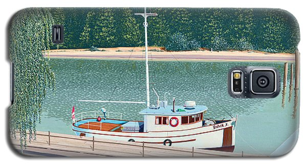 The Converted Fishing Trawler Gulvik Galaxy S5 Case by Gary Giacomelli