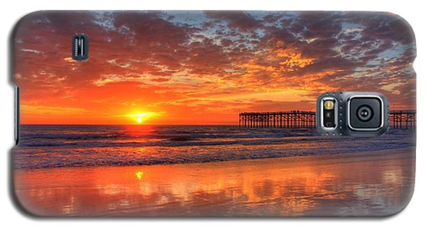 Galaxy S5 Case featuring the photograph The Flame Of Pacific Beach by Nathan Rupert